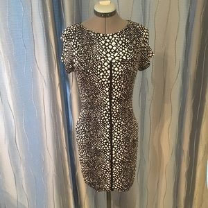 Tart animal print mini dress size small